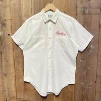 60's~ TOWNCRAFT Fire Dept. Work Shirt