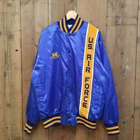 80's ARTEX USAF Nylon Varsity jacket