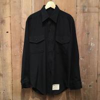 70's U.S.NAVY Poly/Rayon Shirt