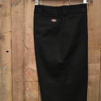 90's Dickies Work Pants BLACK  W : 36