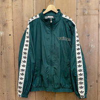 90's~ adidas Nylon Track Jacket GREEN