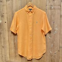 90's~ Polo Ralph Lauren Linen B.D. Shirt