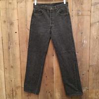 90's Levi's 501 Black Denim Pants  W 30