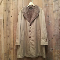 ~80's Brooks Brothers Boa Lined Cotton Twill Coat