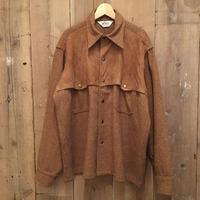70's Woolrich Wool × Suede Jacket