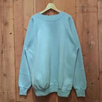 90's Pannill Plain Sweatshirt  L.BLUE