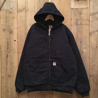 Carhartt Quilted Flannel Lined Active Jacket D.NAVY