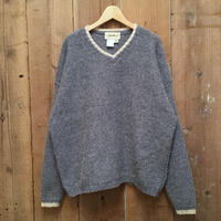 90's~ Eddie Bauer V-Neck Wool Sweater