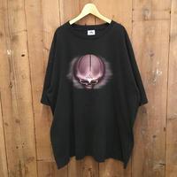 90's~ adidas Basketball Skull Tee