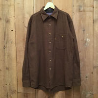 PENDLETON Wool Shirt BROWN