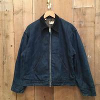 70's~ Sears Blanket Lined Denim Jacket