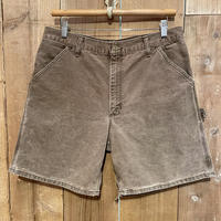 80's~ Carhartt Work Short BROWN