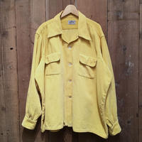 50's~ SKIPPER Open Collar Corduroy Shirt