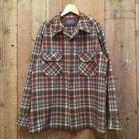 70's Pendleton Board Shirt BROWN×GREEN×BLUE