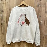 90's Hanes Printed Sweat Shirt