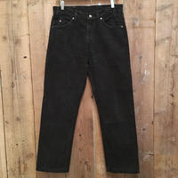 90's Levi's 505 Black Cotton Pants W 34  #2