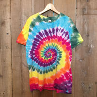80's Fruit of The Loom Tie-Dye Tee   L
