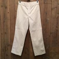 90's Dickies Work Pants WHITE  W : 31