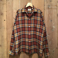 60's ARROW Acrilan Wool Shirt