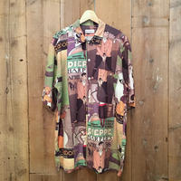 90's BARRY BRICKEN Rayon Shirt