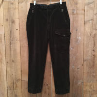 90's Polo Ralph Lauren  Designed Corduroy Pants BLACK  W 33
