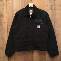 90's~ Carhartt Blanket Lined Detroit Jacket BLACK
