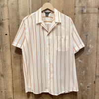 DAVID HARRISON Poly Open Collar Shirt