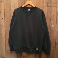 90's RUSSELL ATHLETIC Plain Sweatshirt CHARCOAL