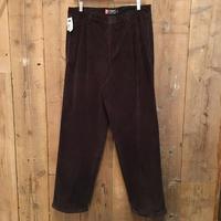 90's Chaps Ralph Lauren Two Tuck Corduroy Pants  W : 34