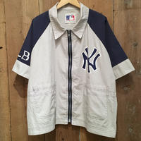 90's New York Yankees Zip Shirt