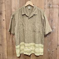 SIERRA CLUB Hemp Open Collar Shirt