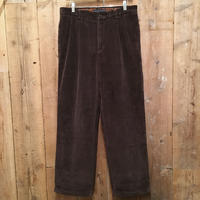 90's~ Tommy Hilfiger Two Tuck Corduroy Pants  W 34