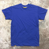 ~90's Unknown Plain Reversible Tee BLUE