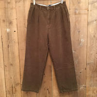 90's Polo Ralph Lauren Two TuckCorduroy  Pants  BROWN   W:31