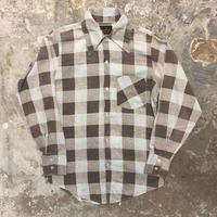 70's Martin Efird Printed Flannel Shirt