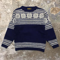 70's NORTH CAPE Nordic Sweater