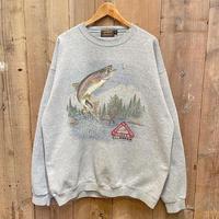 80's~ Eddie Bauer Fishing Sweat Shirt