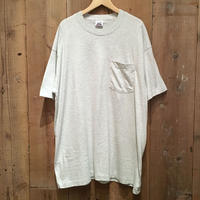 90's BVD Plain Pocket Tee ASH