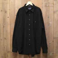 PENDLETON Wool Shirt BLACK