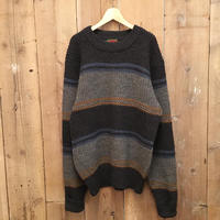 90's~ BOSTON TRADERS Striped Wool Sweater