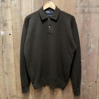 90's Polo Ralph Lauren Lambs Wool Shirt OLIVE