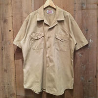 60's Creighton Cotton Open Collar Shirt