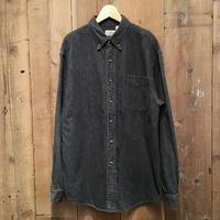L.L.Bean Black Denim B.D Shirt