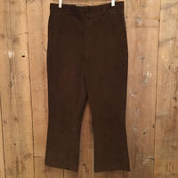 70's~ KING SIZE Flare Corduroy Pants