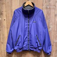 80's Patagonia Shelled Synchilla Jacket PURPLE