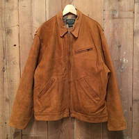 80's ~ POLO COUNTRY Leather Sports Jacket