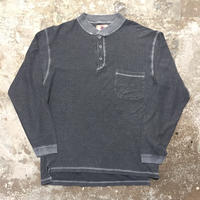 90's THE TERRITORY AHEAD Henry Neck L/S T-Shirt