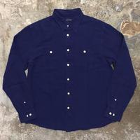LANDS' END Cotton Linen Work Shirt