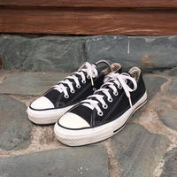 90's CONVERSE ALL STAR Canvas Black US 7