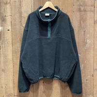 90's L.L.Bean Snap Fleece Shirt GREEN